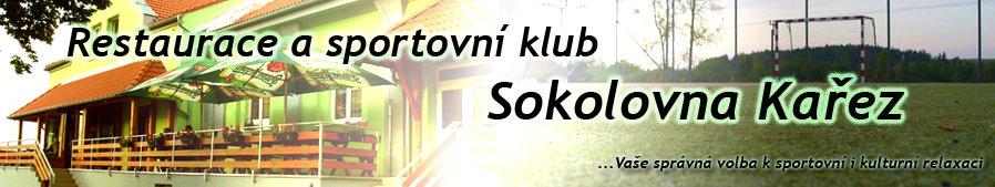 Restaurace a sportovní klub Sokolovna Kařez